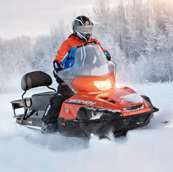 Yamaha VK 540V-  снігохід з  покращеними показниками
